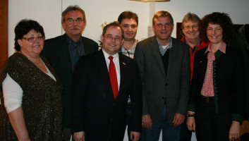 Marianne Koos, Peter Ziegelmeier, Bernd Bante, Wolfgang Ahle, Helmut Jesske, Peter Allenfort, Annette Luckner.