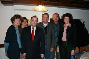 Christina Bublitz, Marianne Koos, Bernd Bante, Helmut Jesske, Peter Ziegelmeier, Annette Luckner.