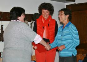 Marianne, Annette und Marion
