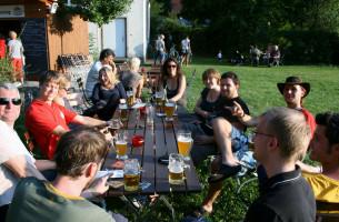 Gut gelaunte SPD`ler,...........auf einem gelungenen Sommerfest!